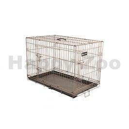 Klec pro psy FLAMINGO Ebo Taupe 109x70x77cm (2 dveře)