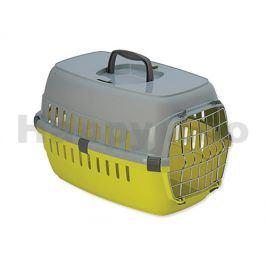 Přepravka DOG FANTASY Carrier žlutá 49x32x30cm