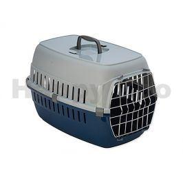 Přepravka DOG FANTASY Carrier modrá 58x35x37cm