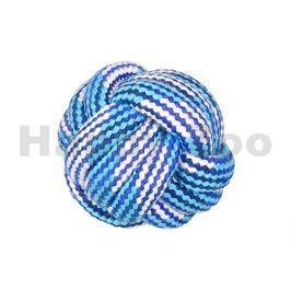 Hračka FLAMINGO bavlna - míč modrobílý 5,5cm