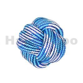 Hračka FLAMINGO bavlna - míč modrobílý 10cm