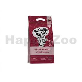 MEOWING HEADS New Senior Moments 450g