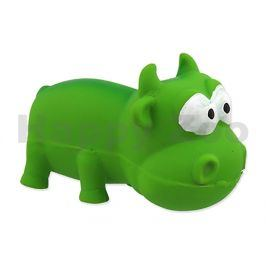 Hračka DOG FANTASY latex - mini býk zelený 9cm