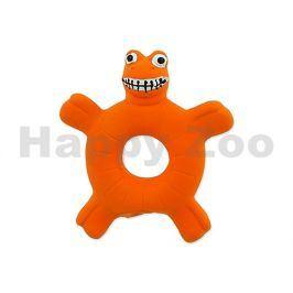 Hračka DOG FANTASY latex - želva oranžová 10cm