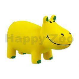Hračka DOG FANTASY latex - hroch žlutý 10cm