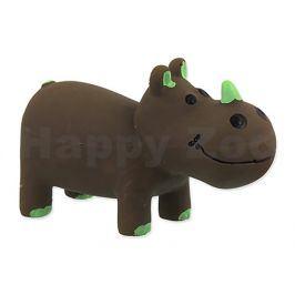 Hračka DOG FANTASY latex - nosorožec hnědý 10cm