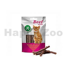 JK Meat Snack Cat Beef Sticks 50g