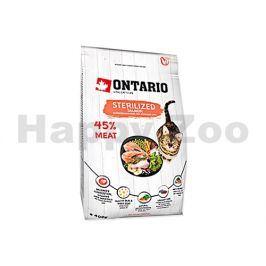 ONTARIO Cat Fresh Meat Sterilized Salmon 0,4kg