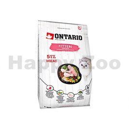 ONTARIO Cat Fresh Meat Kitten Chicken 2kg