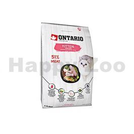 ONTARIO Cat Fresh Meat Kitten Chicken 6,5kg