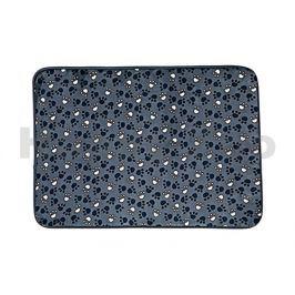 Podložka TRIXIE Tammy modrá s packami 90x68cm