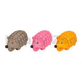Hračka FLAMINGO latex - ježek 15cm (MIX BAREV)