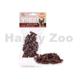 YOGGIES BARF hovězí výcvikové pamlsky pro psy ze syrového masa 5