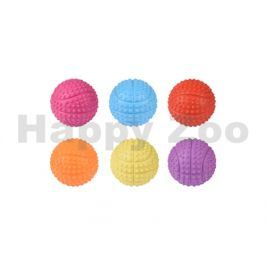 Hračka FLAMINGO guma - basketbalový míč 5,5cm (MIX BAREV)