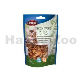 TRIXIE Cat Premio Chicken Octopus Bites 50g