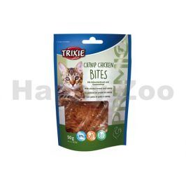 TRIXIE Cat Premio Catnip Chicken Bites 50g