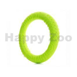 Hračka JK pěna EVA - Magic Ring zelený 27cm