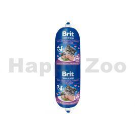 BRIT Cat Premium by Nature Sausage Chicken & Turkey Sterilised 1
