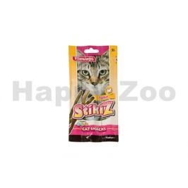 FLAMINGO Cat Snack Stickiz  - krůta a jehněčí 15g (3ks)
