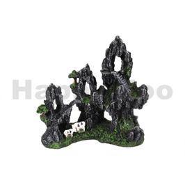 Akvarijní dekorace FLAMINGO - Tectum skalní chrám 17x9x16cm