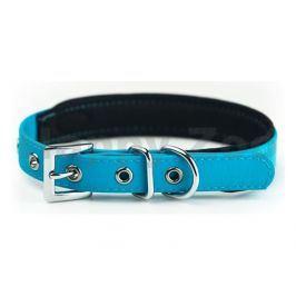 Obojek NOBBY Cover PVC světle modrý (S) 30-40cm