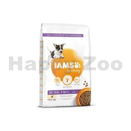 IAMS for Vitality Dog Puppy Small & Medium Chicken 12kg