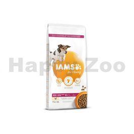IAMS for Vitality Dog Senior Small & Medium Chicken 12kg
