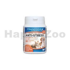 FRANCODEX tablety Anti-stress pro psy a kočky (60tbl)