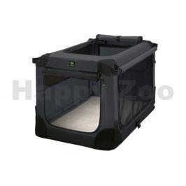 MAELSON Soft Kennel nylonová přepravka černo-antracitová (L) 82x