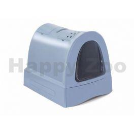 Toaleta ARGI s výsuvnou zásuvkou modrá 40x56x42,5cm
