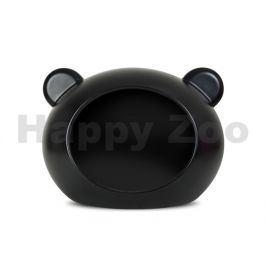 GUISAPET plastový pelíšek pro psy černý (M) 70x50x58 cm