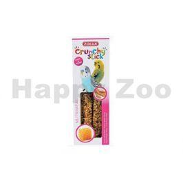 Tyčinky ZOLUX Crunchy Sticks Parakeet proso/med (2ks)