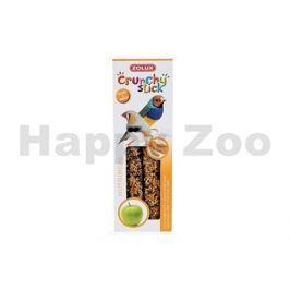 Tyčinky ZOLUX Crunchy Sticks Exotic proso/jablko (2ks)