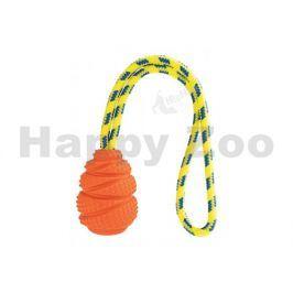 Hračka HIPHOP guma - Aport plovoucí s lanem vanilkový 36cm (MIX
