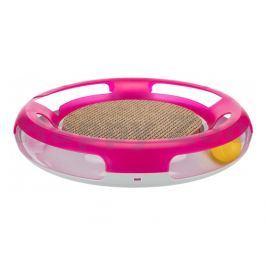 Hračka TRIXIE pro kočky - kruh s kuličkou a škrabacím kartonem 3
