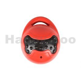 Hračka FLAMINGO guma TPR - Brutus míč s rukojetí červenočerný 11