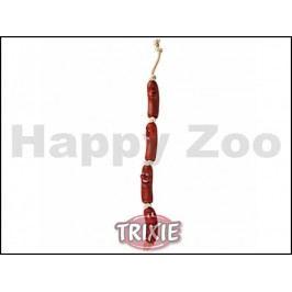 Hračka TRIXIE vinyl - párky na šňůře 75cm