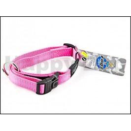 Obojek ROGZ Utility HB 06 K-Pink (L) 2x34-56cm
