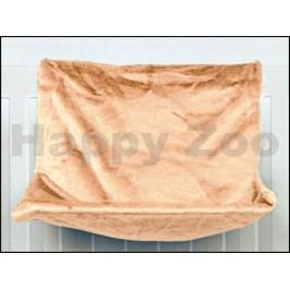 Závěsné lůžko TRIXIE De Luxe na topení hnědé 45x24x31cm