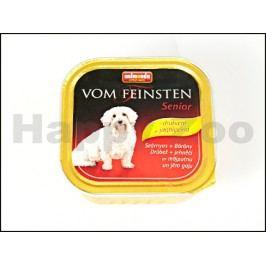 Paštika VOM FEINSTEN Senior drůbeží a jehněčí 150g (pes)