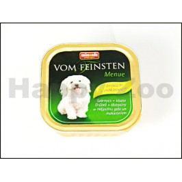 Paštika VOM FEINSTEN Menue drůbeží a těstoviny 150g (pes)