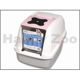 Toaleta HAGEN Catit Design růžová 57x46,5x39cm
