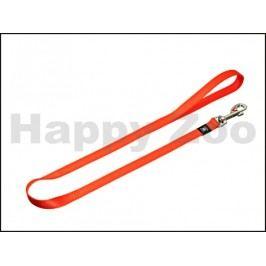 Vodítko KARLIE-FLAMINGO Art Sportiv Plus oranžové (S) 100x1,5cm