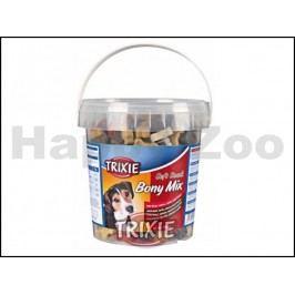 TRIXIE Soft Snack Bony Mix - hovězí, jehněčí, losos, kuře 500g