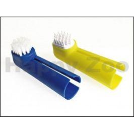 Zubní kartáček KARLIE-FLAMINGO na prst (2ks)