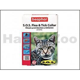 Antiparazitní obojek BEAPHAR S.O.S. pro kočky 35cm