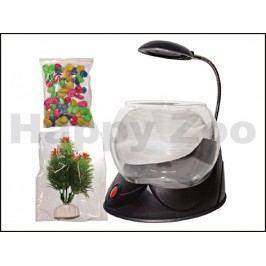 Akvarijní koule HAILEA Magic Bowl (včetně kamínků a rostliny) če