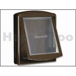 Plastová dvířka PET SAFE Staywell Original 775 hnědá (velikost: