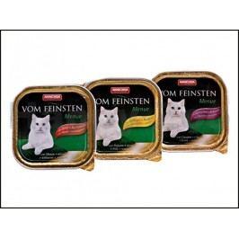 Paštika VOM FEINSTEN Menue drůbeží a těstoviny 100g (kočka)