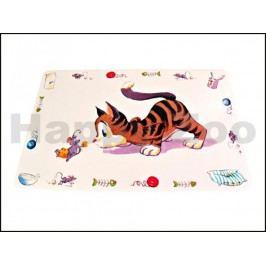 Prostírání TRIXIE Comic Cat pro kočky 44x28cm